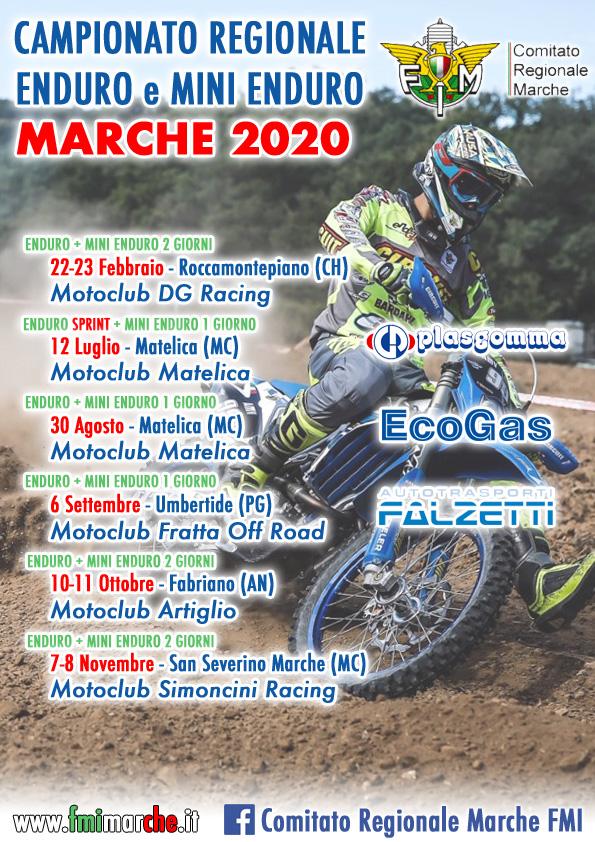 Calendario Enduro Regionale 2021 CALENDARIO ENDURO AGGIORNATO | FMI Comitato Regionale Marche